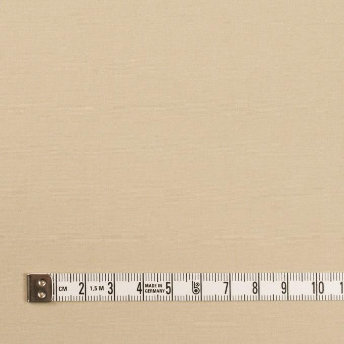 コットン×無地(ライトベージュ)×高密ポプリン イメージ4