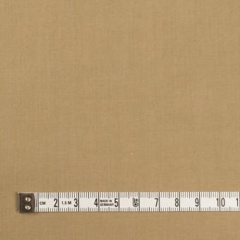 コットン&ナイロン×無地(カーキベージュ)×高密ポプリン・ワッシャー サムネイル4