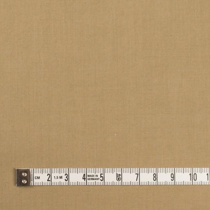 コットン&ナイロン×無地(カーキベージュ)×高密ポプリン・ワッシャー イメージ4