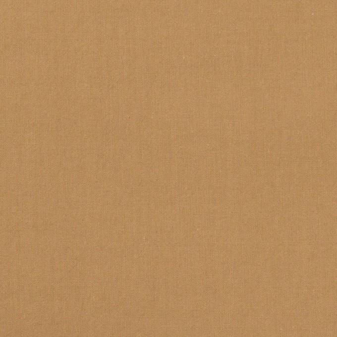 コットン×無地(オークル)×タイプライター(高密ローン)・ワッシャー イメージ1