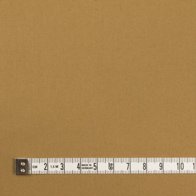 コットン×無地(オークル)×高密ポプリン イメージ4