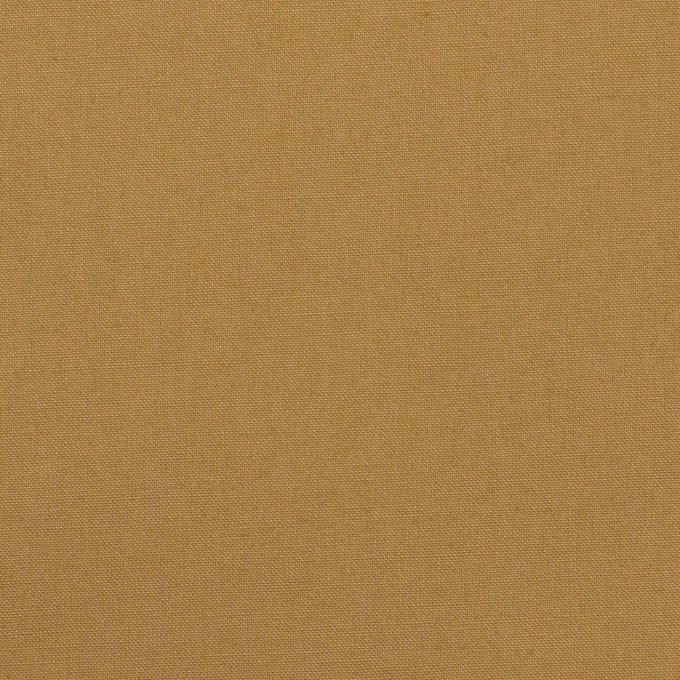 コットン×無地(オークル)×高密ポプリン イメージ1