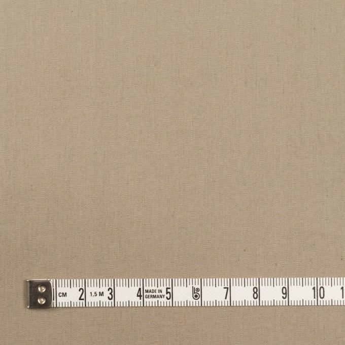 コットン&リネン混×無地(グレイッシュベージュ)×ポプリンストレッチ イメージ4