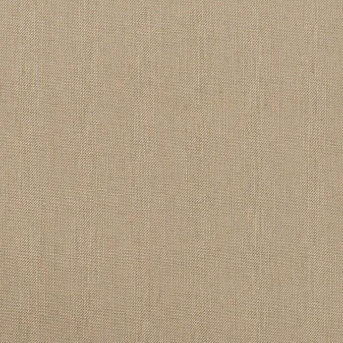 コットン&リネン混×無地(グレイッシュベージュ)×ポプリンストレッチ イメージ1