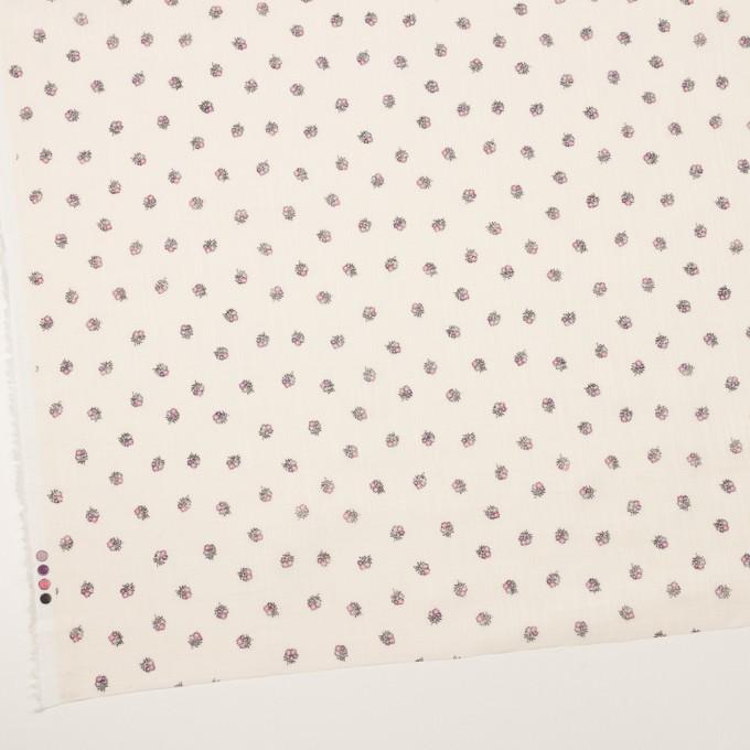 ラミー×フラワー(ピンク&エクリュ)×ボイル_全3色 イメージ2