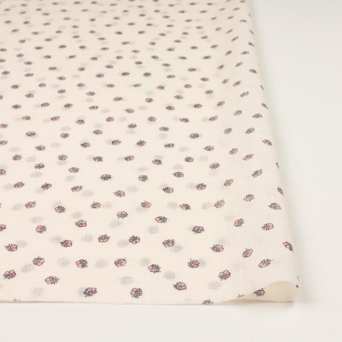 ラミー×フラワー(ピンク&エクリュ)×ボイル_全3色 イメージ3