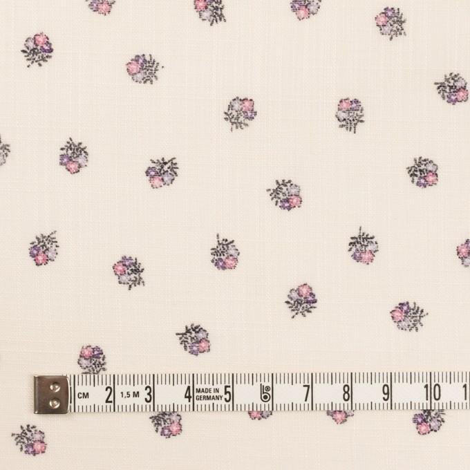 ラミー×フラワー(ピンク&エクリュ)×ボイル_全3色 イメージ4