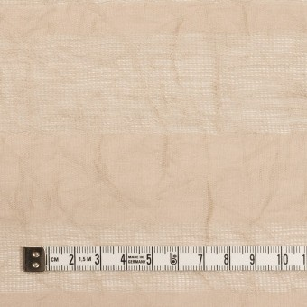 コットン&リネン×ボーダー(ベージュ)×からみ織ワッシャー サムネイル4