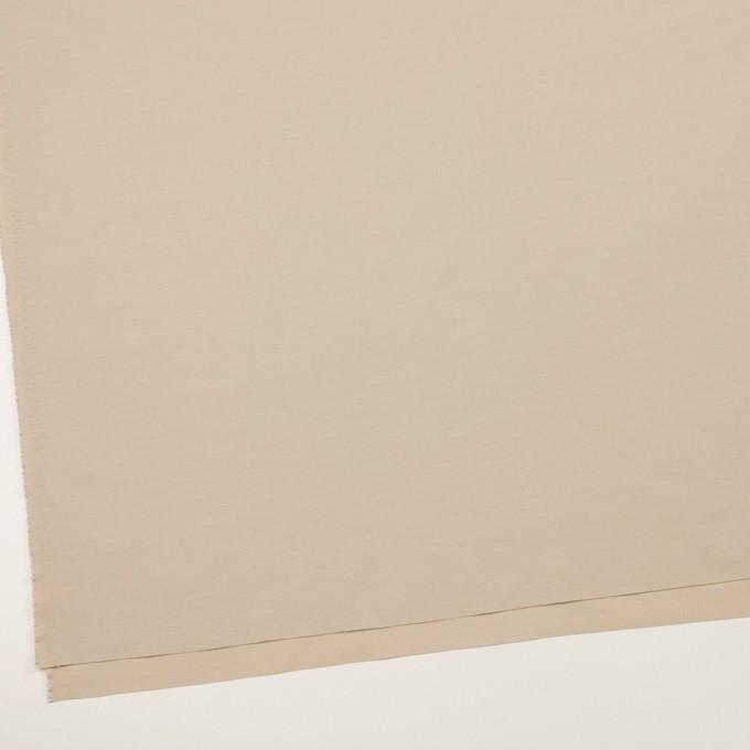 コットン&ナイロン混×無地(ベージュ)×ポプリンストレッチ_全2色 イメージ2