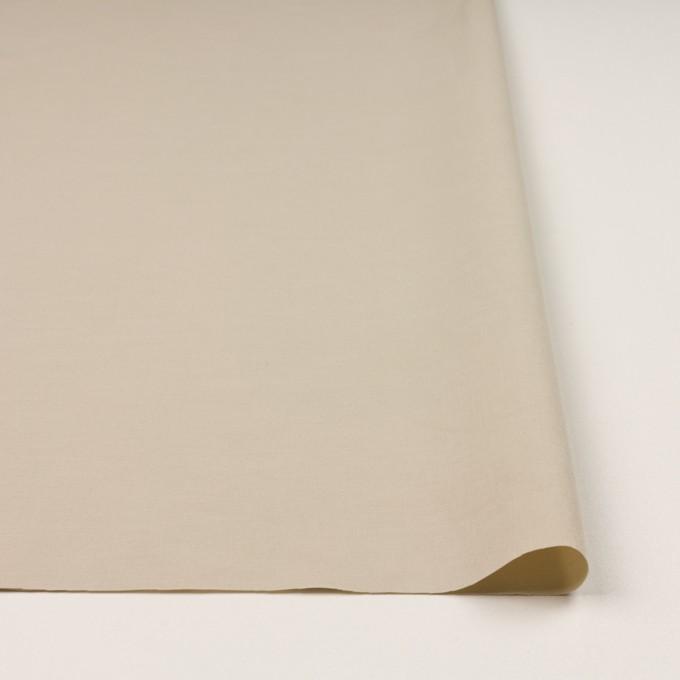 コットン&ナイロン混×無地(ベージュ)×ポプリンストレッチ_全2色 イメージ3
