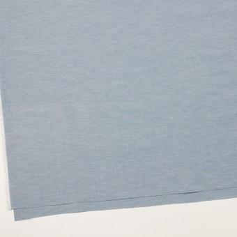 コットン&ナイロン混×無地(サックスグレー)×ポプリンストレッチ_全2色 サムネイル2