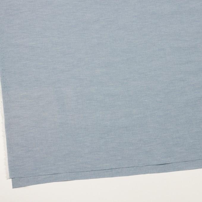 コットン&ナイロン混×無地(サックスグレー)×ポプリンストレッチ_全2色 イメージ2