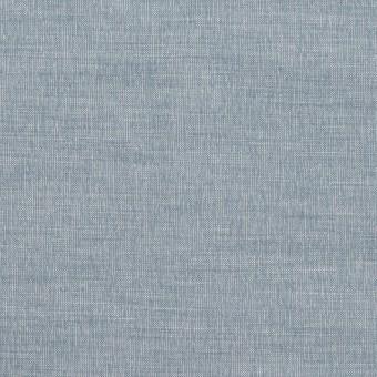 コットン&ナイロン混×無地(サックスグレー)×ポプリンストレッチ_全2色