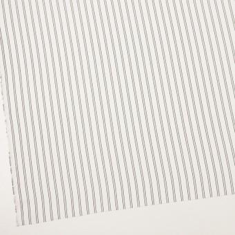 ポリエステル×ストライプ(ミルク&ブラック)×バックサテン・ジョーゼット_全3色 サムネイル2