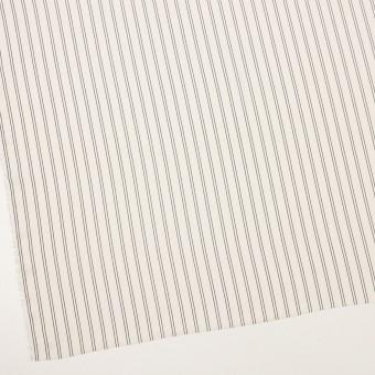 ポリエステル×ストライプ(エクリュ&ダークネイビー)×バックサテン・ジョーゼット_全3色 サムネイル2