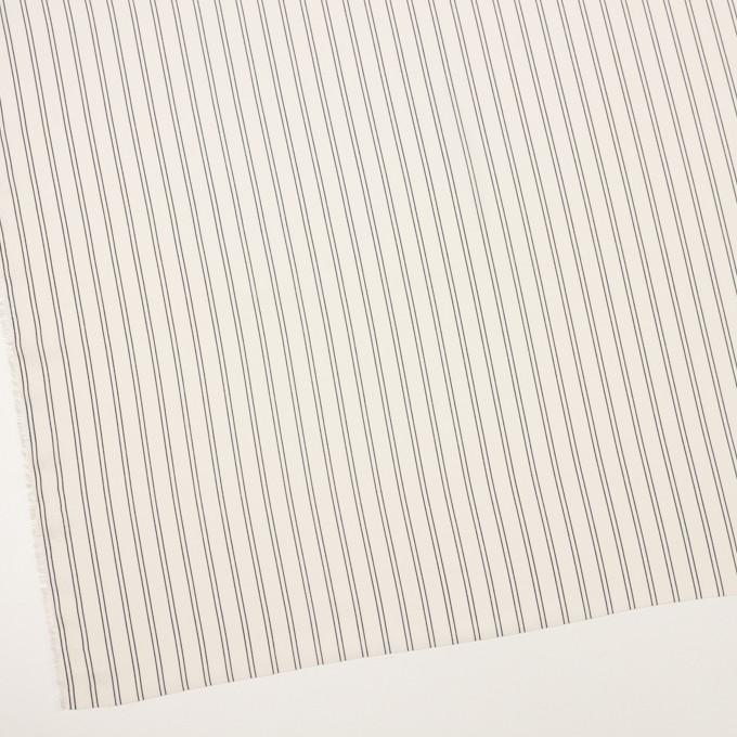 ポリエステル×ストライプ(エクリュ&ダークネイビー)×バックサテン・ジョーゼット_全3色 イメージ2