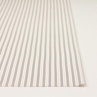 ポリエステル×ストライプ(エクリュ&ダークネイビー)×バックサテン・ジョーゼット_全3色 サムネイル3