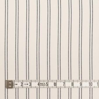 ポリエステル×ストライプ(エクリュ&ダークネイビー)×バックサテン・ジョーゼット_全3色 サムネイル4