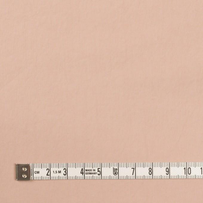 コットン×無地(ピンクベージュ)×タイプライター(高密ローン)・ワッシャー イメージ4