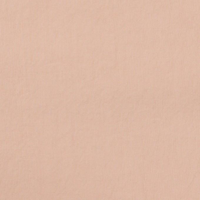 コットン×無地(ピンクベージュ)×タイプライター(高密ローン)・ワッシャー イメージ1