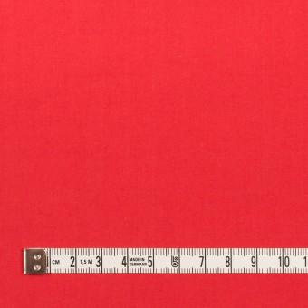 コットン×無地(レッド)×タイプライター(高密ローン)・ワッシャー サムネイル4