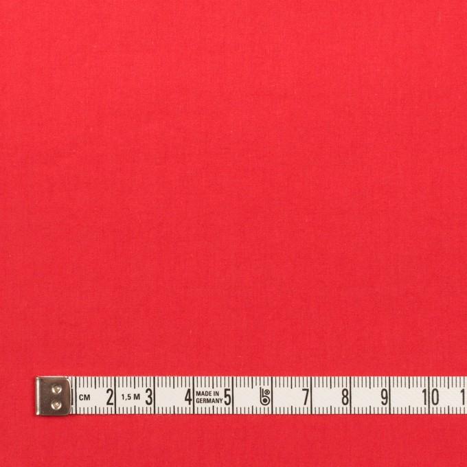 コットン×無地(レッド)×タイプライター(高密ローン)・ワッシャー イメージ4