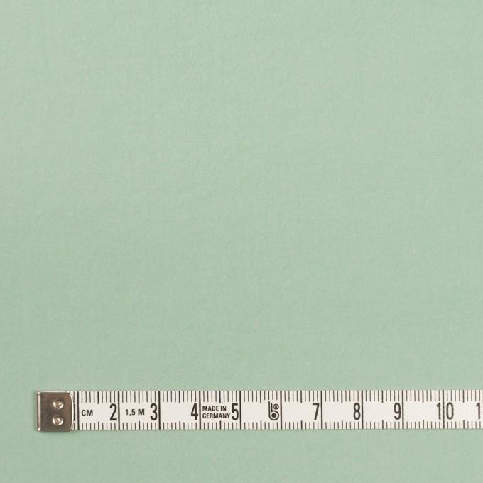 コットン×無地(ミント)×タイプライター(高密ローン)・ワッシャー イメージ4