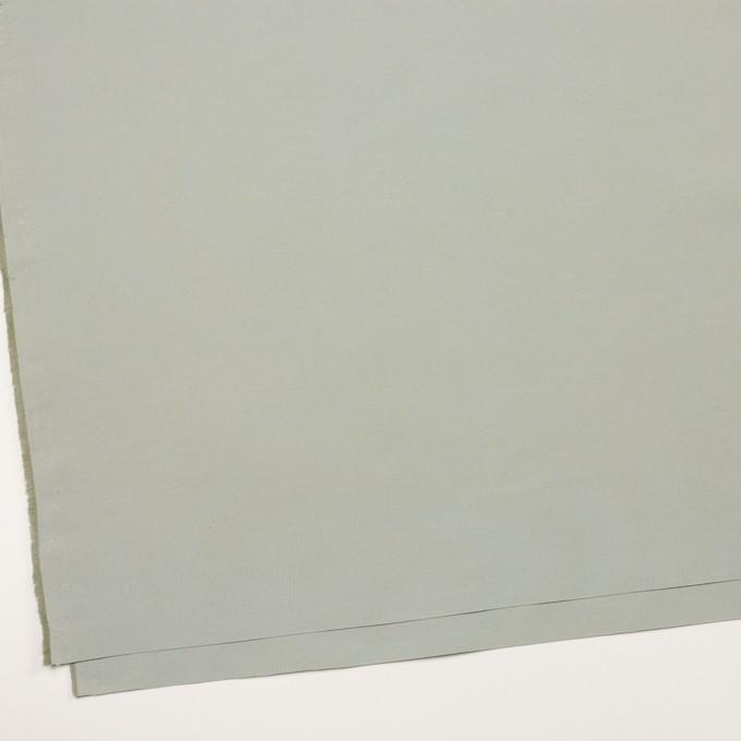 コットン&ポリエステル×無地(フォギーグレー)×タッサーポプリン イメージ2