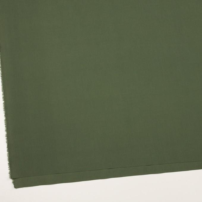 コットン×無地(カーキグリーン)×ブロード イメージ2