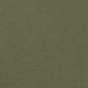 コットン×無地(カーキグリーン)×ポプリン