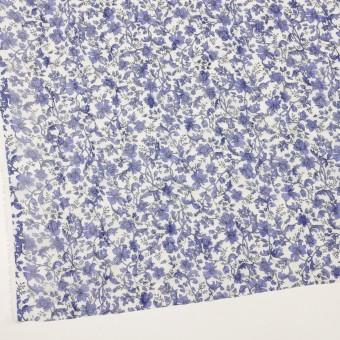 ポリエステル×フラワー(バイオレット)×ジョーゼット刺繍 サムネイル2