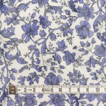 ポリエステル×フラワー(バイオレット)×ジョーゼット刺繍 サムネイル4