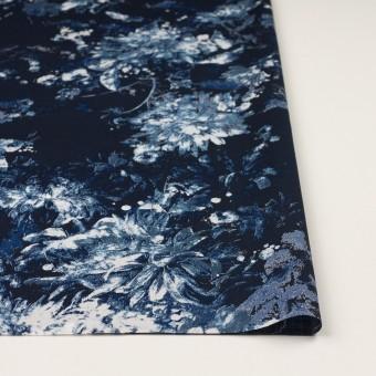 コットン×フラワー(ネイビー)×ローン_全2色 サムネイル3