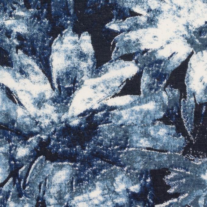 コットン×フラワー(ネイビー)×ローン_全2色 イメージ1