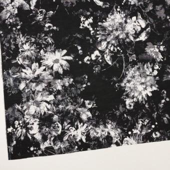 コットン×フラワー(ブラック)×ローン_全2色 サムネイル2