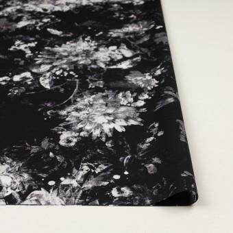 コットン×フラワー(ブラック)×ローン_全2色 サムネイル3