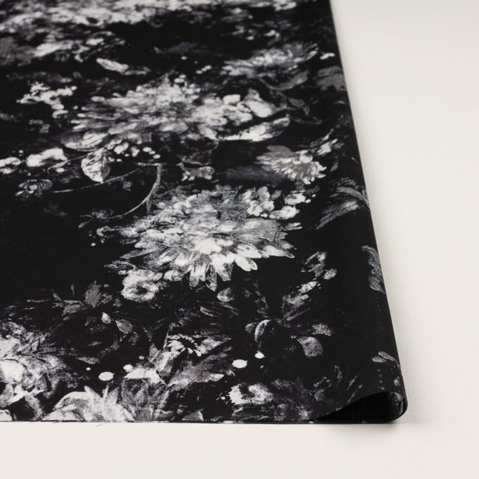 コットン×フラワー(ブラック)×ローン_全2色 イメージ3