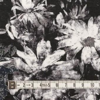 コットン×フラワー(ブラック)×ローン_全2色 サムネイル4