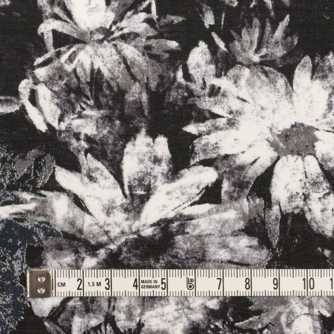 コットン×フラワー(ブラック)×ローン_全2色 イメージ4