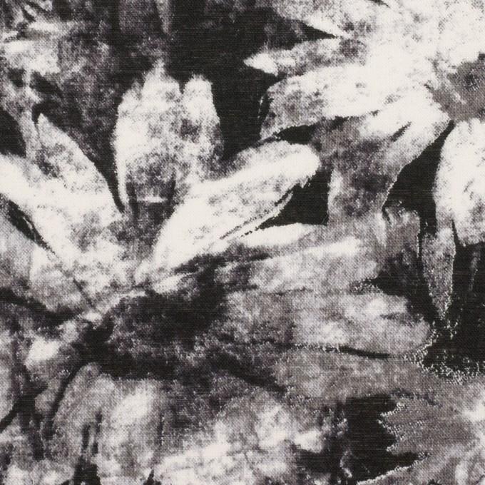 コットン×フラワー(ブラック)×ローン_全2色 イメージ1