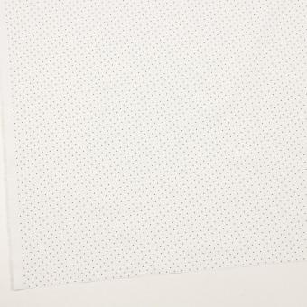 コットン×ドット(オフホワイト&ブラック)×タイプライター(高密ローン)・ワッシャー_全5色 サムネイル2