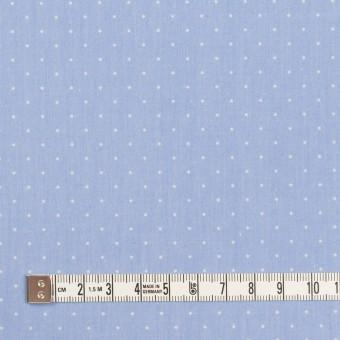コットン×ドット(サックス&クリーム)×タイプライター(高密ローン)・ワッシャー_全5色 サムネイル4