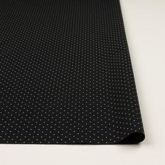 コットン×ドット(ブラック&オフホワイト)×タイプライター(高密ローン)・ワッシャー_全5色 サムネイル3