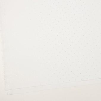 コットン&リヨセル×ドット(ホワイト)×ローンジャガード サムネイル2
