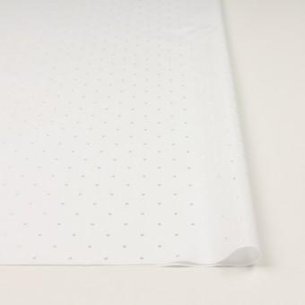 コットン&リヨセル×ドット(ホワイト)×ローンジャガード サムネイル3