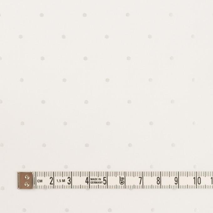コットン&リヨセル×ドット(ホワイト)×ローンジャガード イメージ4