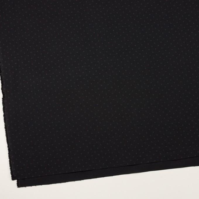 コットン×ドット(チャコールブラック)×オックスフォード イメージ2
