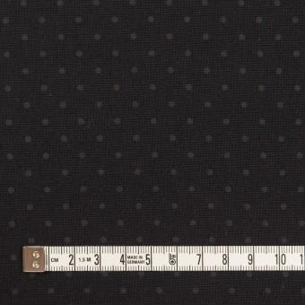 コットン×ドット(チャコールブラック)×オックスフォード サムネイル4