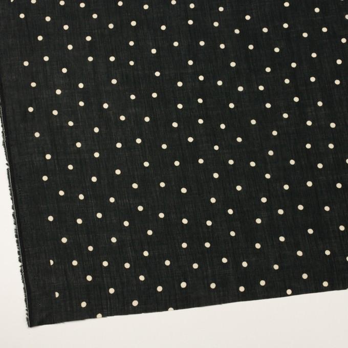 ラミー&テンセル×水玉(ブラック&エクリュ)×ローン イメージ2