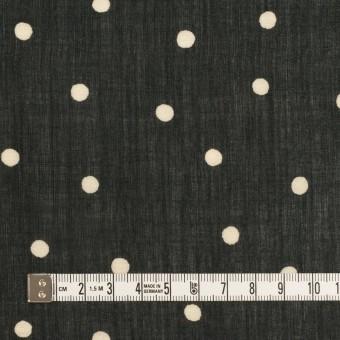 ラミー&テンセル×水玉(ブラック&エクリュ)×ローン サムネイル4
